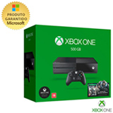 Console Xbox One 500GB + Jogo Gears of War 4 ( Download )